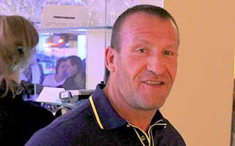6 x Mr Olympia Dorian Yates Spotted in La Sala