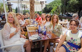 El Corte Inglés Fashion Show Lunch at La Sala