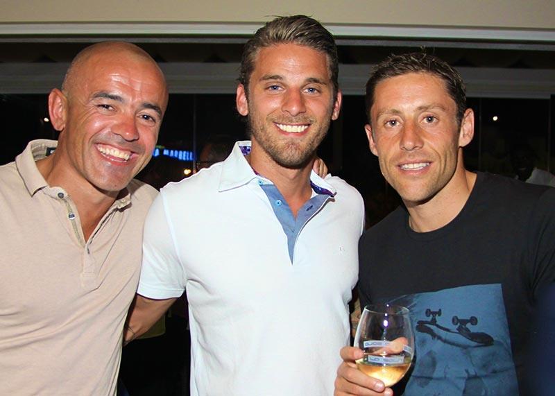 Stephen Carr, David Bentley, Michael Brown