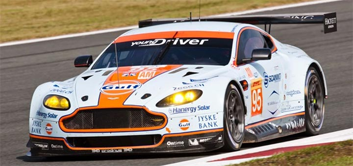La Sala Sponsored Young Driver AMR wins World Cup
