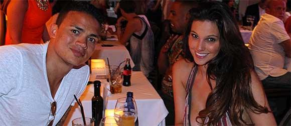 Celebrities Dine Out at La Sala – Puerto Banus