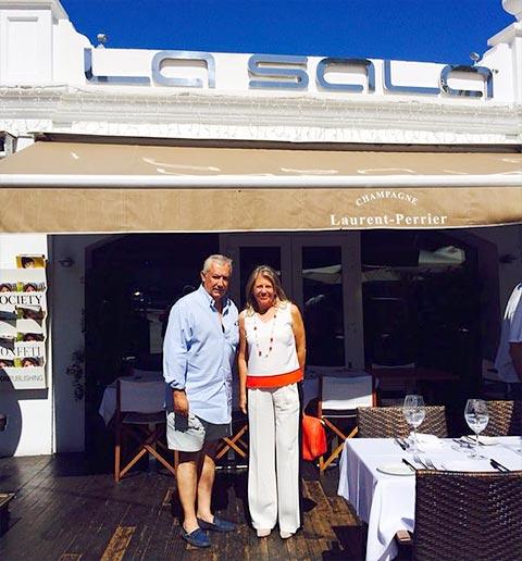 Marbella Mayor and Politician Javier Arenas at La Sala