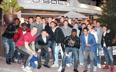 FC Basel's Fun Night Out in La Sala