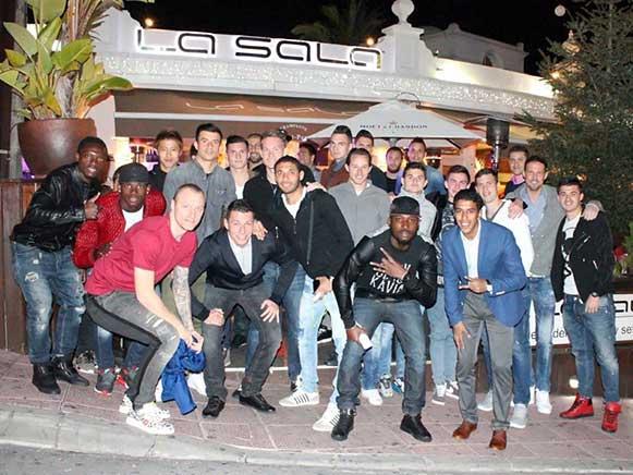 FC Basel's Fun Night Out in La Sala