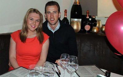 Harry Kane Spent Valentine's Night in La Sala