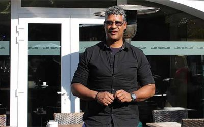 Frank Rijkaard Spotted Having Lunch in La Sala