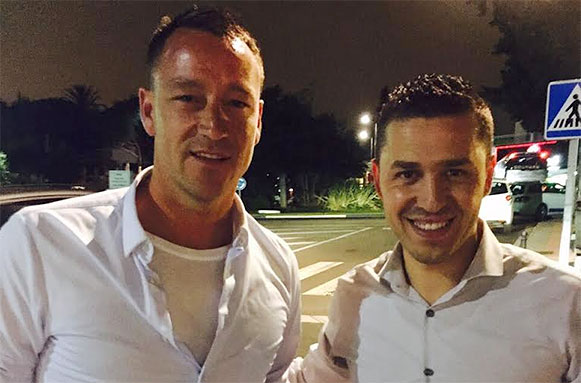 John Terry Spotted in La Sala Banus