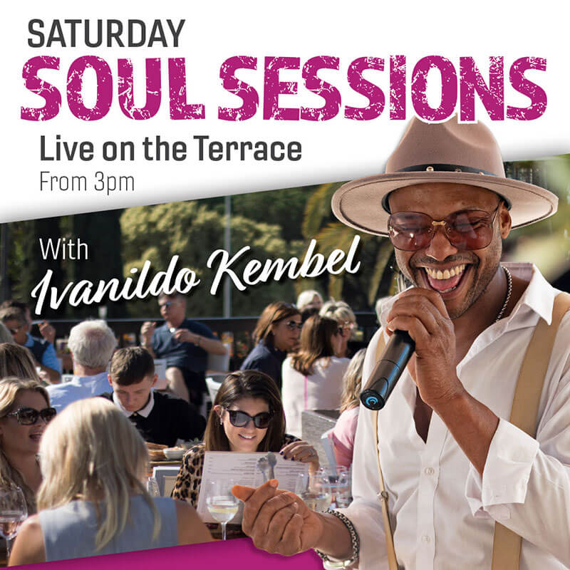 Saturday Soul Sessions with Ivanildo Kembel