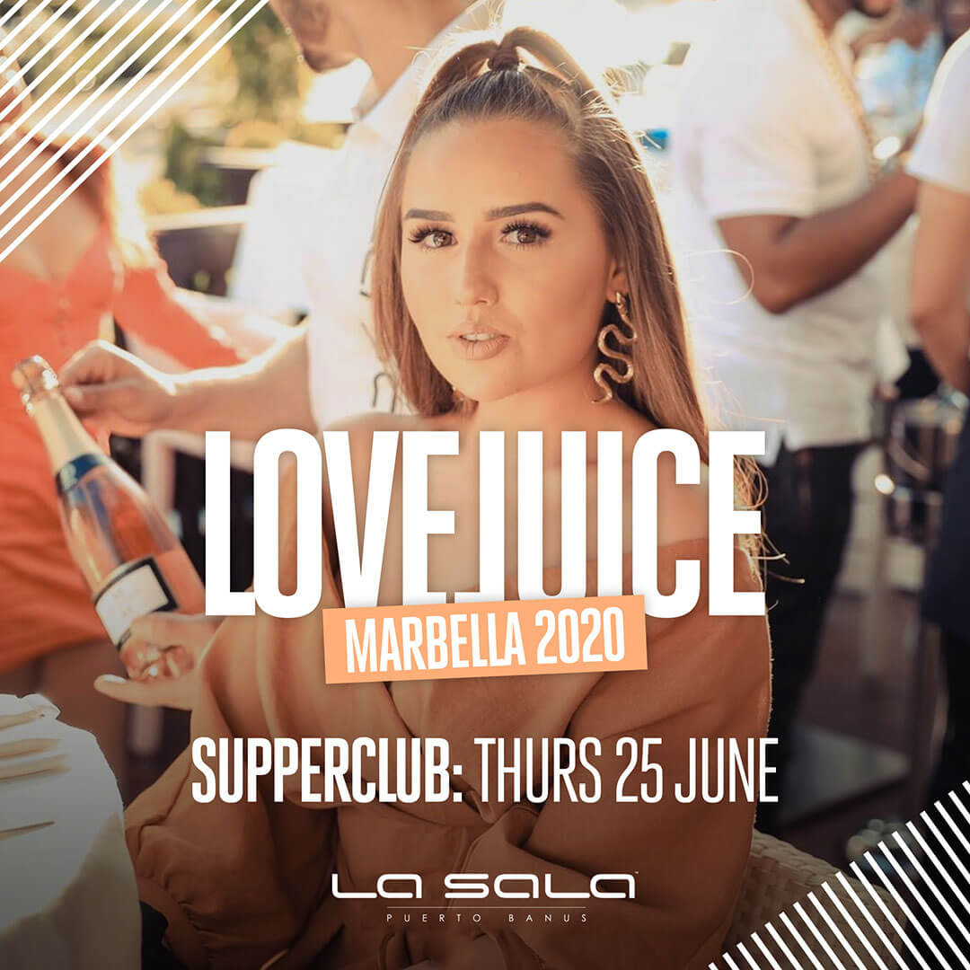 Summer 2020 in Marbella with Supperclub