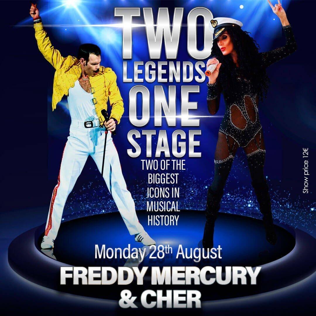 Freddie Mercury & Cher Tribute in Marbella