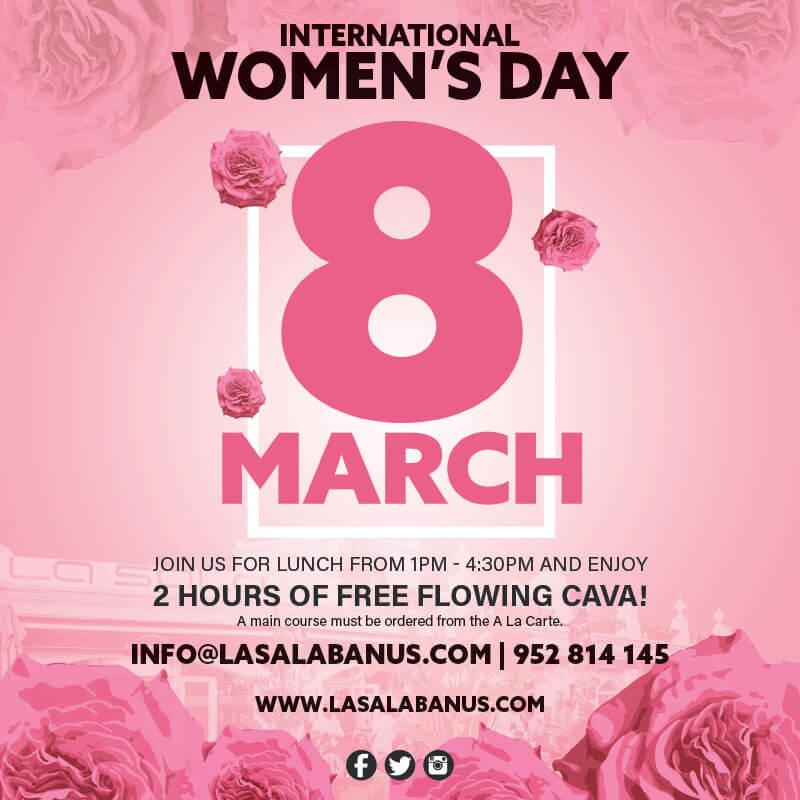 International Women's Day in Marbella