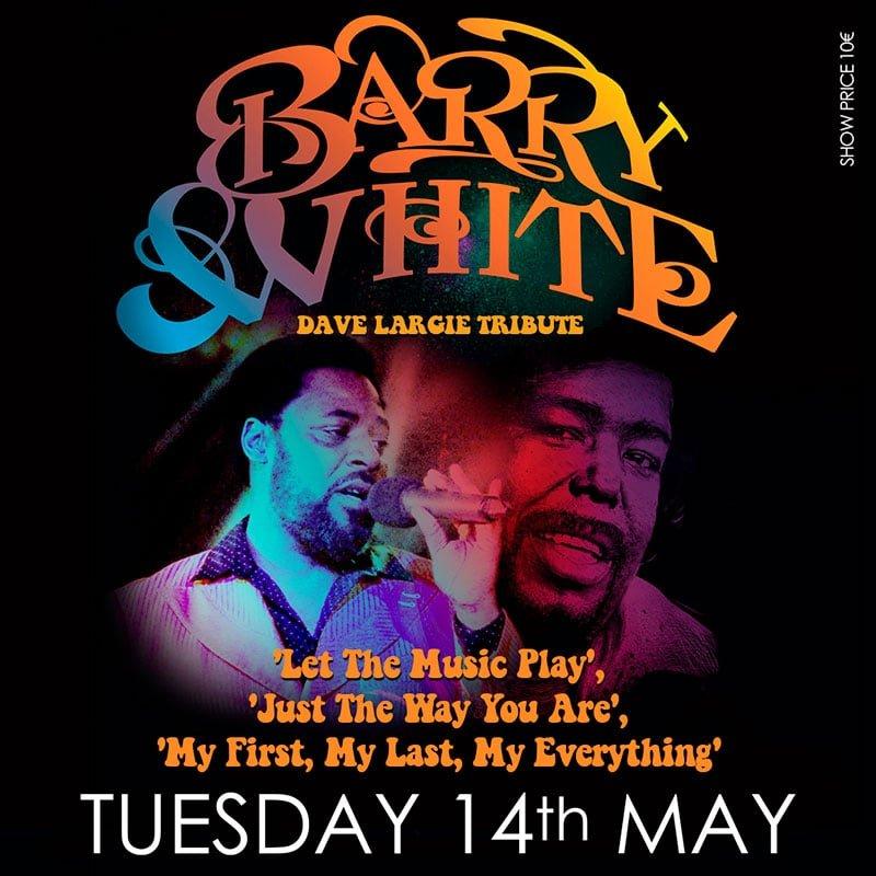 Barry White tribute in Marbella at La Sala