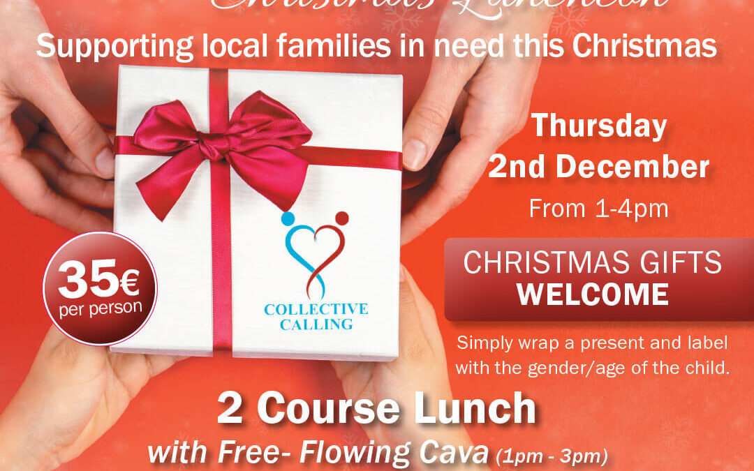 Gift Appeal Christmas Lunch to be held at La Sala