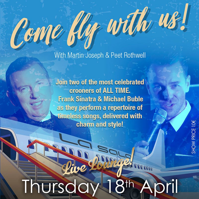Come Fly With Us tribute in Marbella