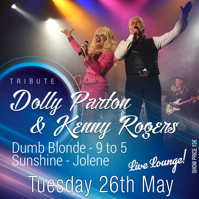 Dolly Parton & Kenny Rogers Tribute in Marbella at La Sala