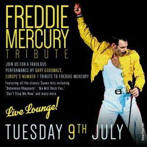 Freddie Mercury Tribute in Marbella at La Sala