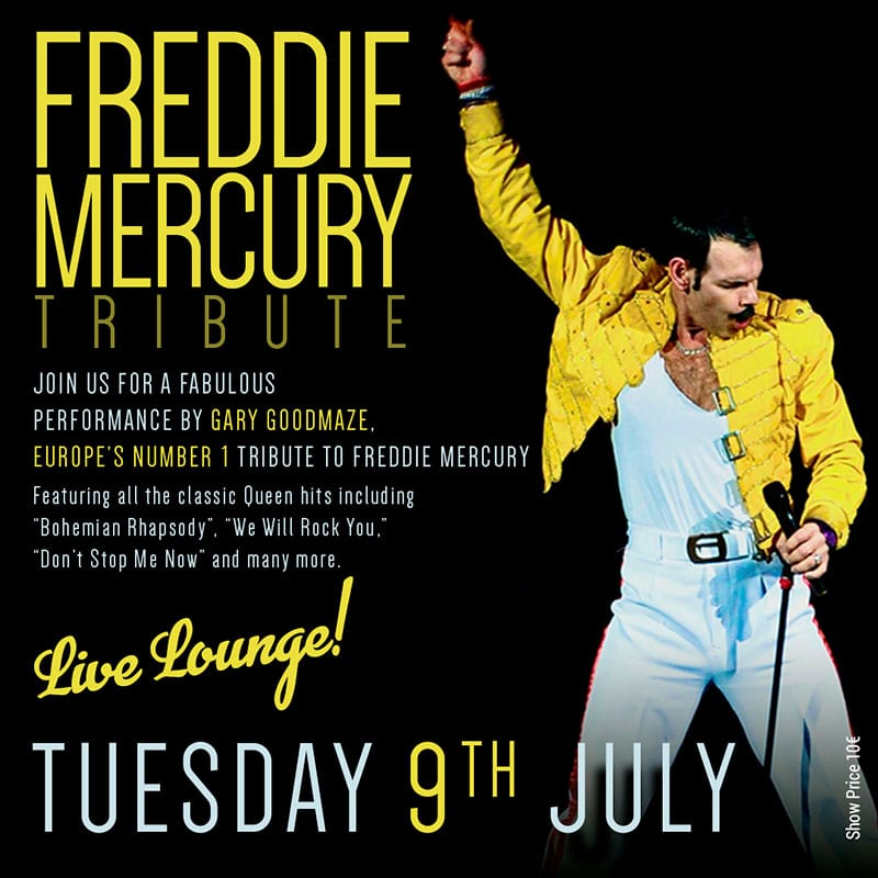 Freddie Mercury Tribute in Marbella at La Sala
