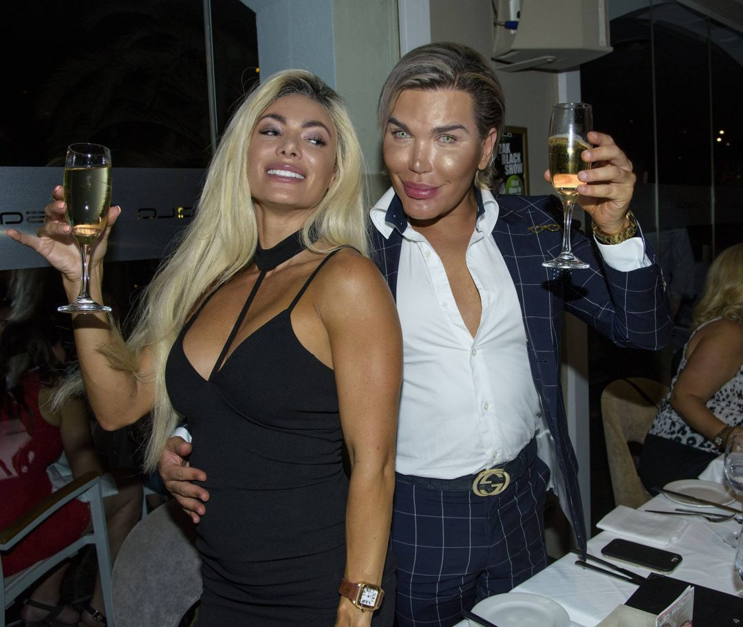 Rodrigo Alves and Danni Levy