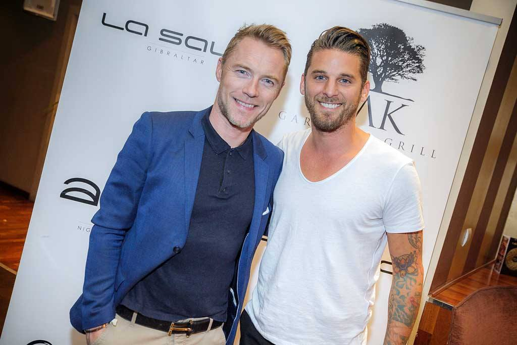 Ronan Keating, David Bentley