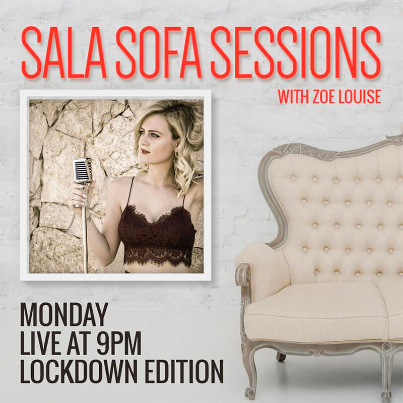 Sofa Sessions Zoe-Louise
