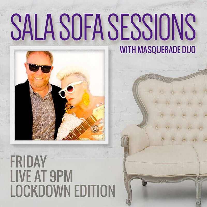 Sofa Sessions Masquerade