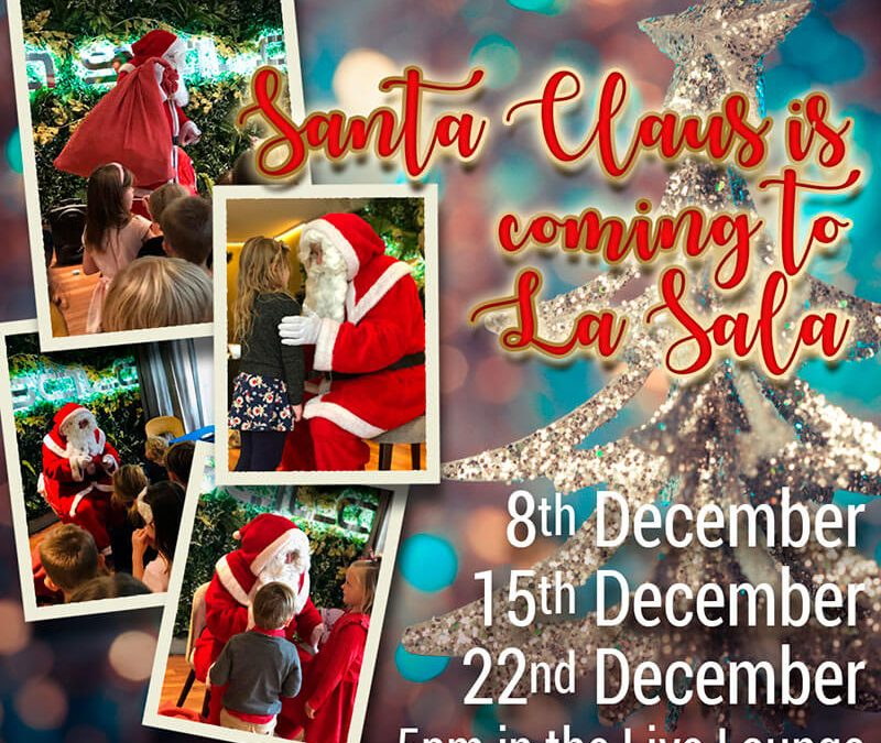 Santa Claus is coming to La Sala!