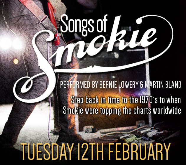 The songs of Smokie live at La Sala in Marbella