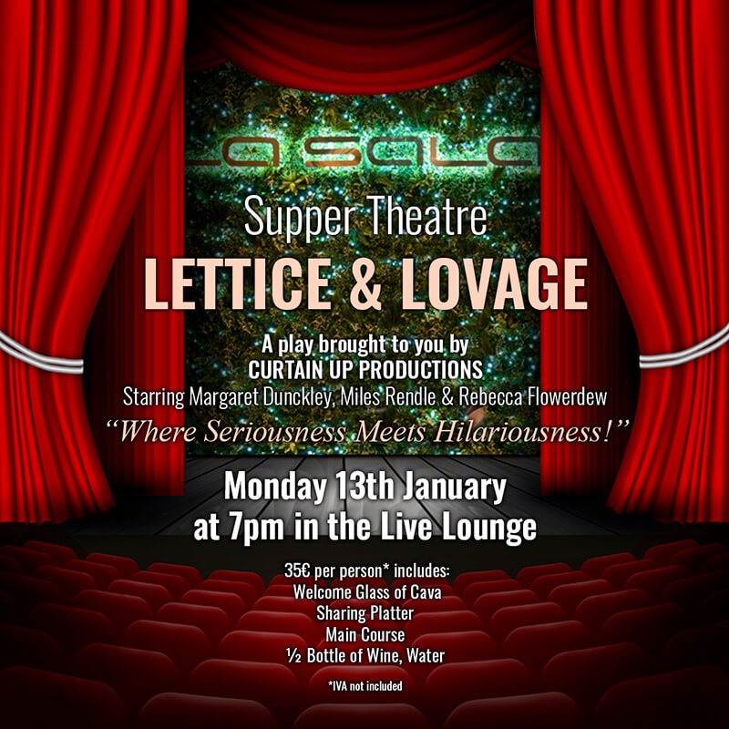 Supper Theatre - Lettice and Lovage