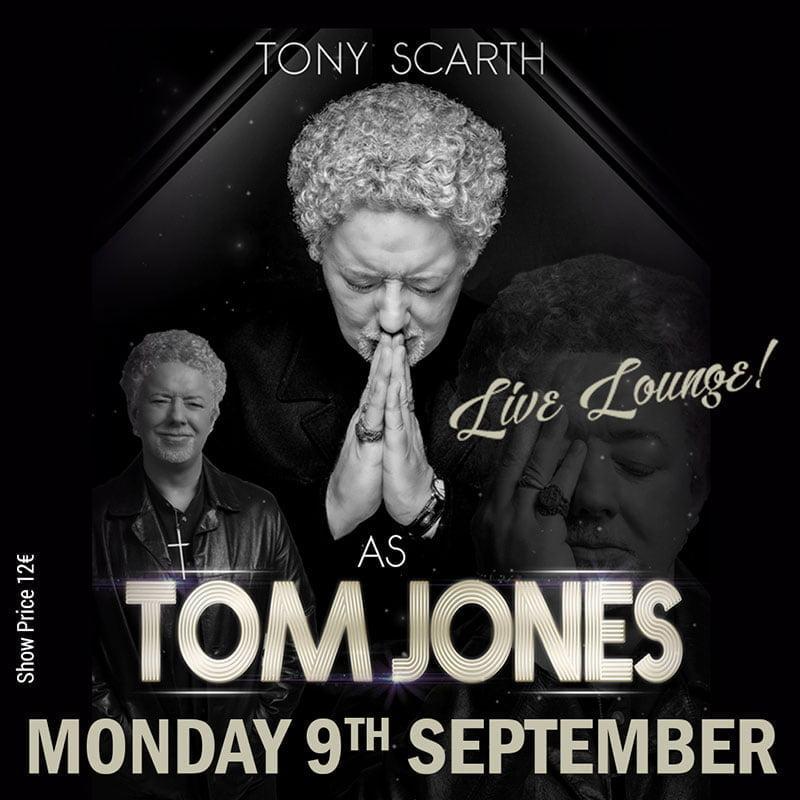 Tom Jones tribute in Marbella at La Sala Puerto Banu
