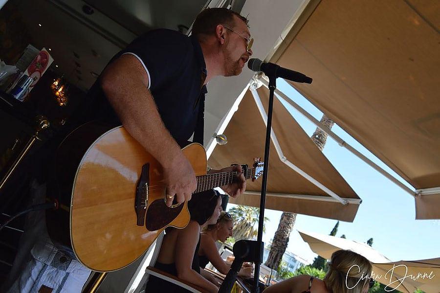 Tony Capo live at La Sala Puerto Banus - Marbella