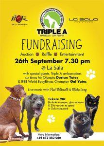 Triple A Fundraising Event at La Sala Banus