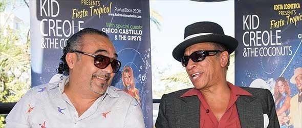 Kid Creole Preps Press on Marbella Concert