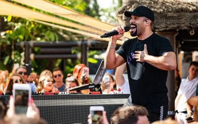 Craig David brings all the vibes to La Sala by the Sea