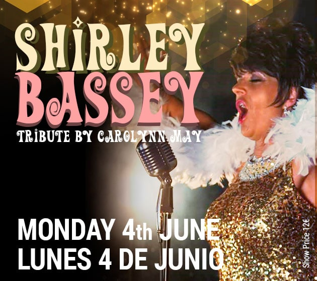 Shirley Bassey Tribute at La Sala Puerto Banus
