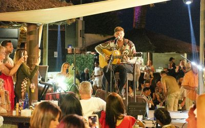 James Arthur sells out exclusive event at La Sala by the Sea