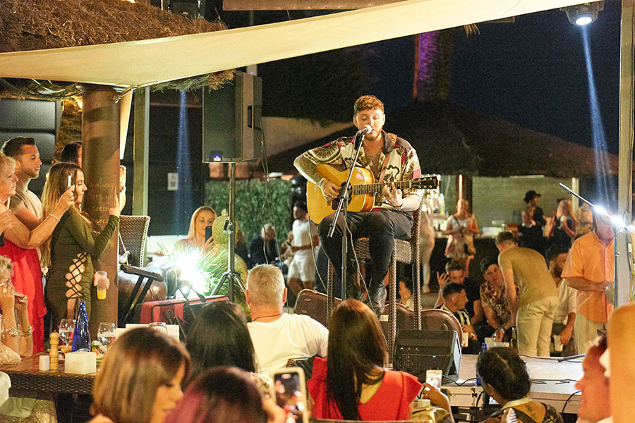 X Factor winner James Arthur sells out exclusive event at La Sala by the Sea