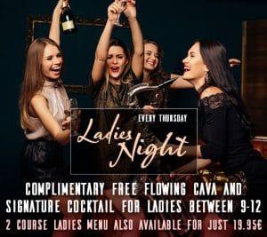 Ladies Night in Marbella - Free Drinks in Puerto Banus at La Sala