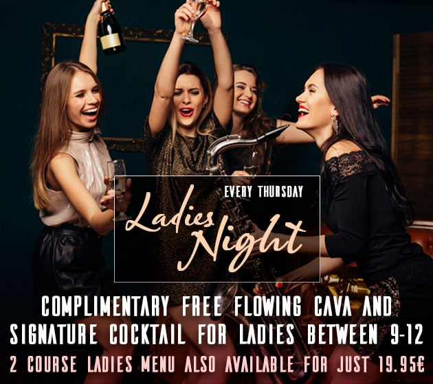 Ladies Night in Marbella - Free Drinks in Puerto Banus at La Sala