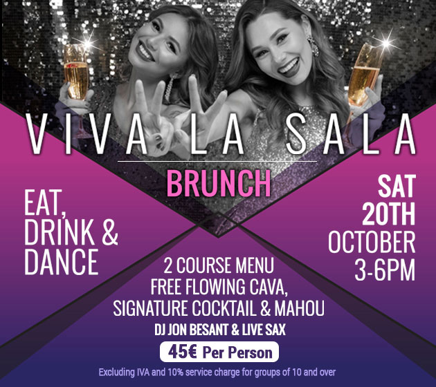 Viva La Sala Brunch set to liven up Marbella this October