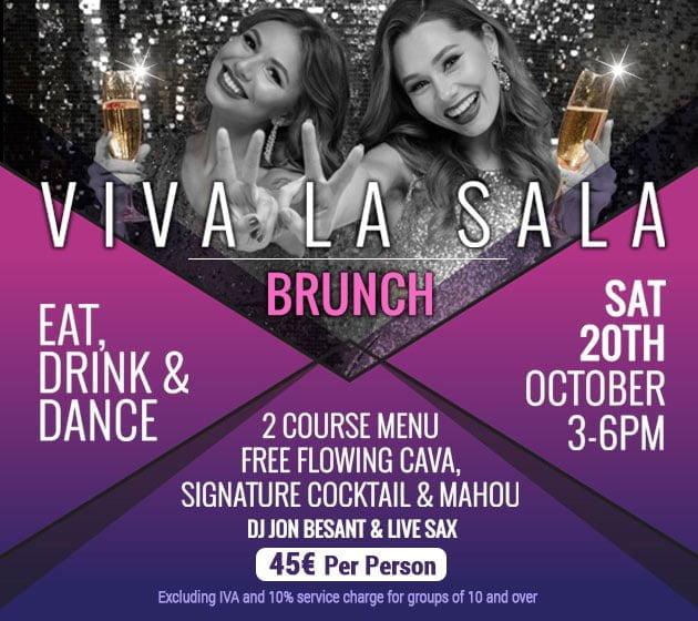 Viva La Sala Brunch set to liven up Marbella this October