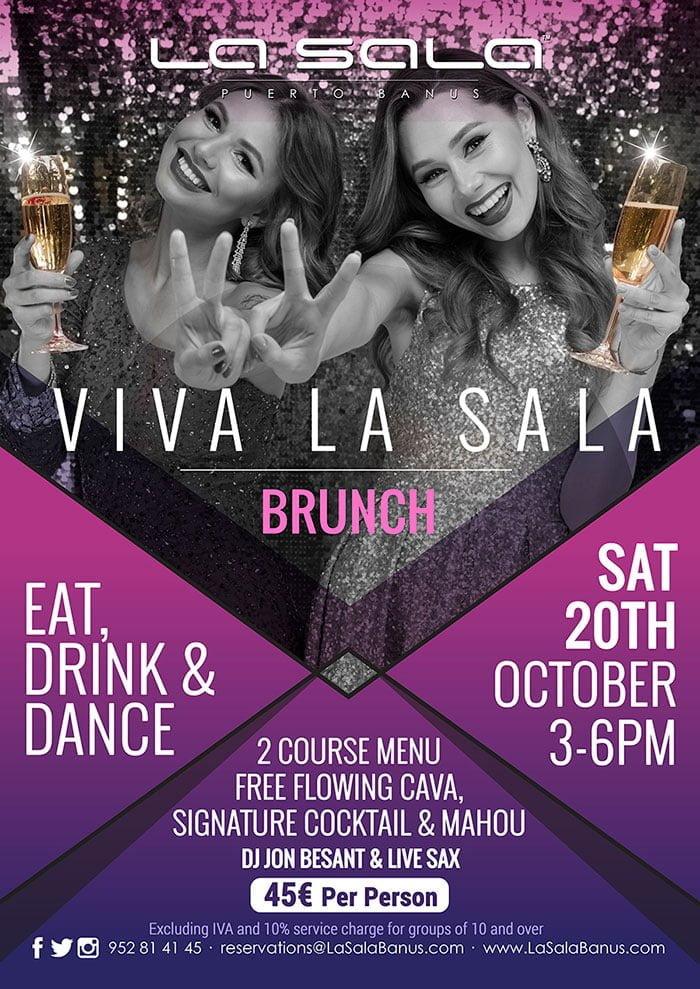 Viva La Sala, brunch parties in Marbella