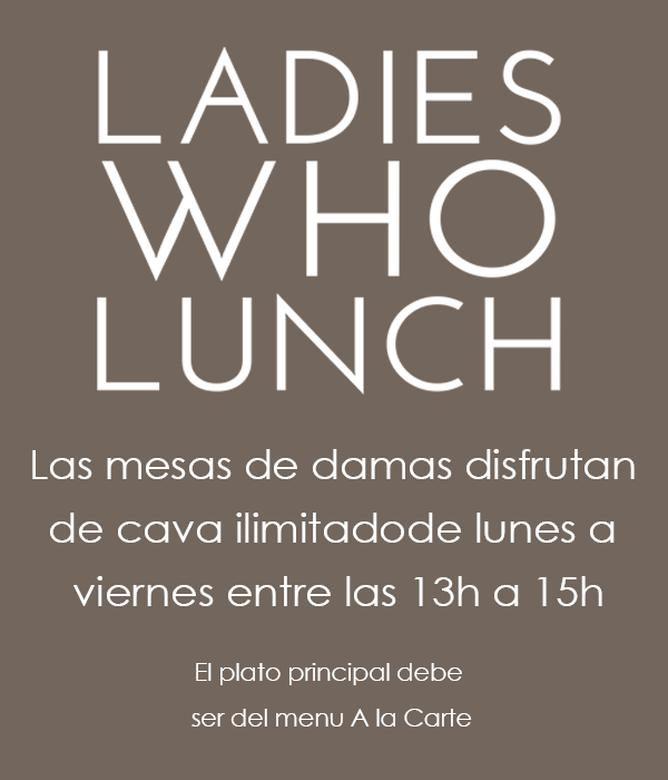 Free Cava in Marbella for the Ladies at La Sala
