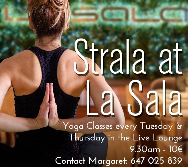 Yoga in Marbella at La Sala in Puerto Banus
