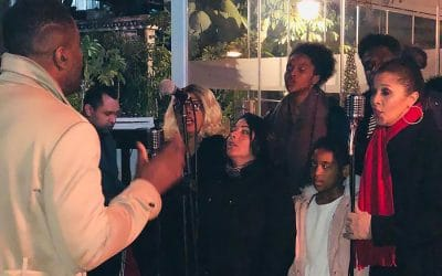 Marbella Gospel Choir lit up Christmas at La Sala