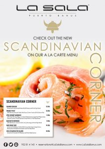 Scandinavian food in Marbella