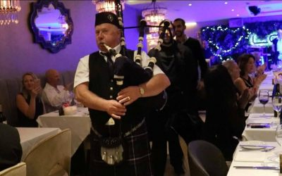 Celebrating Burns Night in Marbella at La Sala