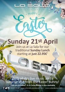 Easter Sunday Lunch in Marbella