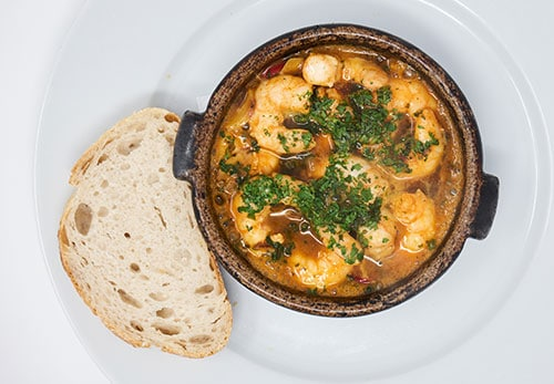 The best gambas pilpil in Marbella