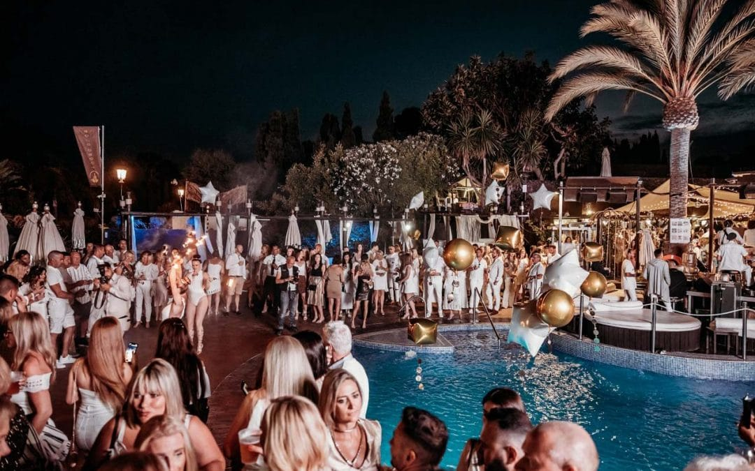 Marbella's Number 1 White & Gold 2019 Party