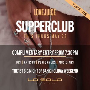Lovejuice Supperclub Marbella